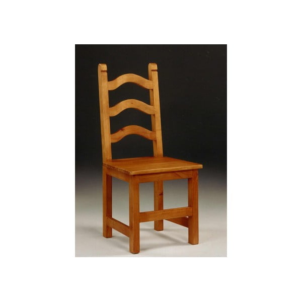 Stolička SIT z voskovanej borovice