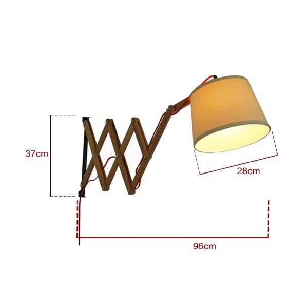 Nástenná lampa Tisoro