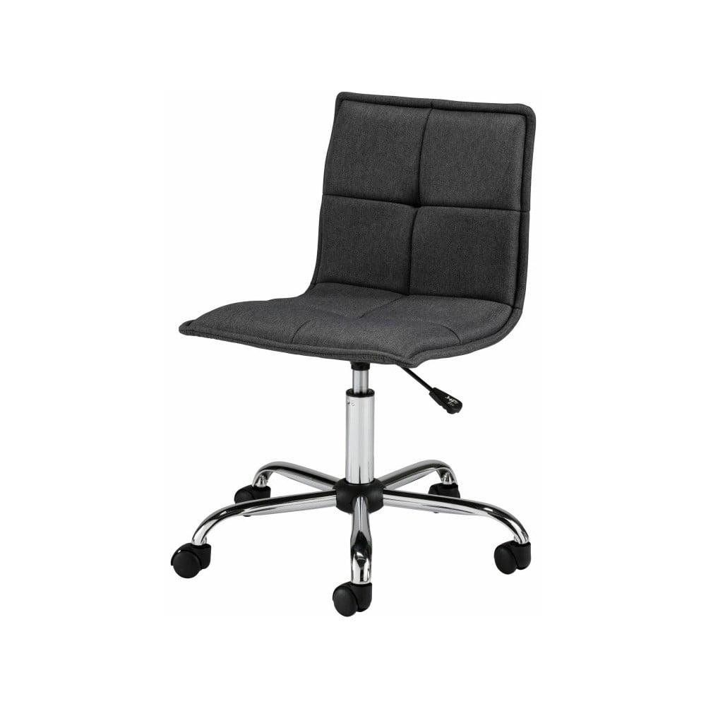 Čierna kancelárska stolička na kolieskach Støraa Bartal