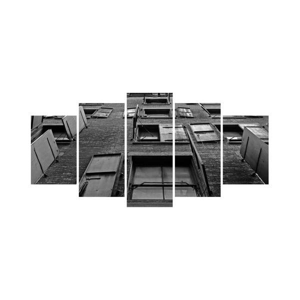Viacdielny obraz Black&White no. 64, 100x50 cm