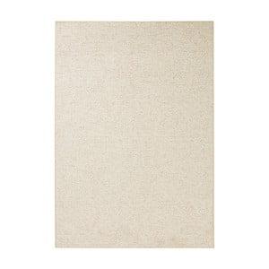 Krémový koberec BT Carpet Wolly, 100 × 140 cm