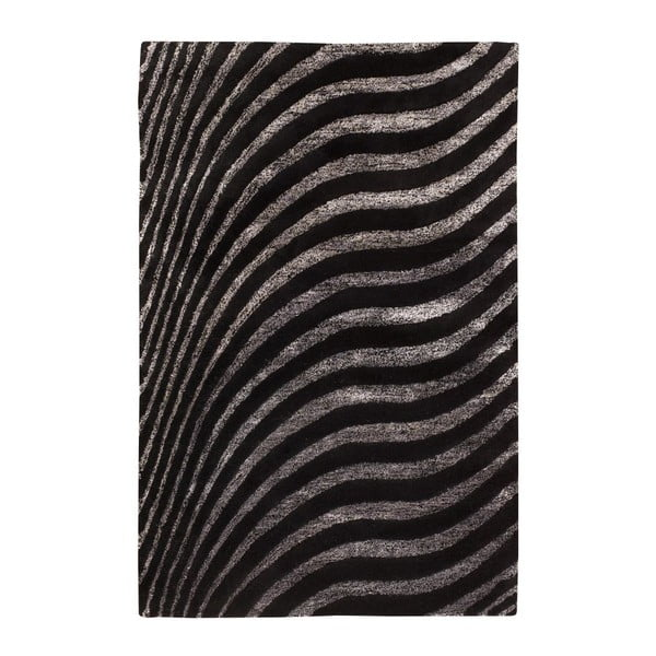 Koberec Nadir 130 Black, 170x240 cm