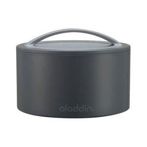 Termobox na desiatu Bento 350 ml, sivý
