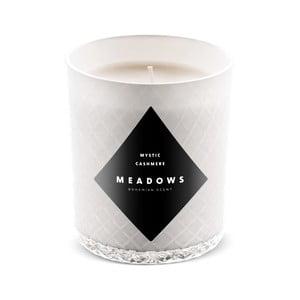 Sviečka s vôňou škorice a muškátového orieška Meadows Mystic Cashmere, doba horenia 60 hodín
