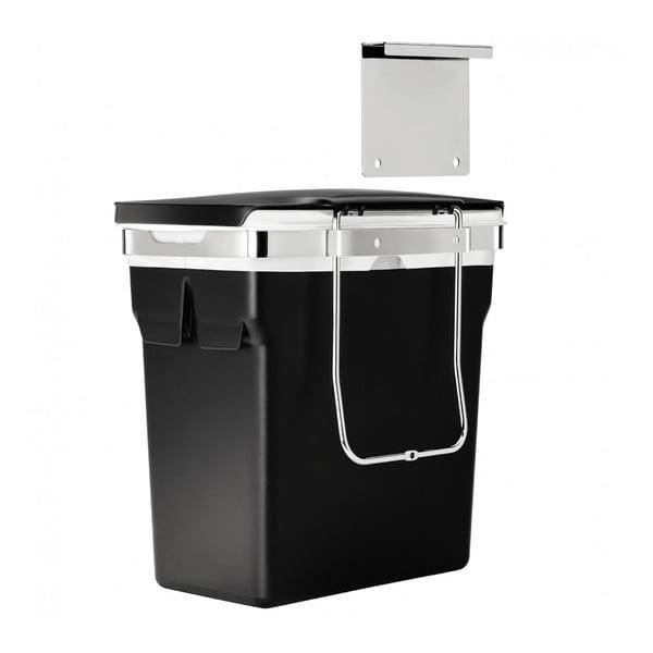Vstavaný odpadkový kôš Inside 10 l, čierny