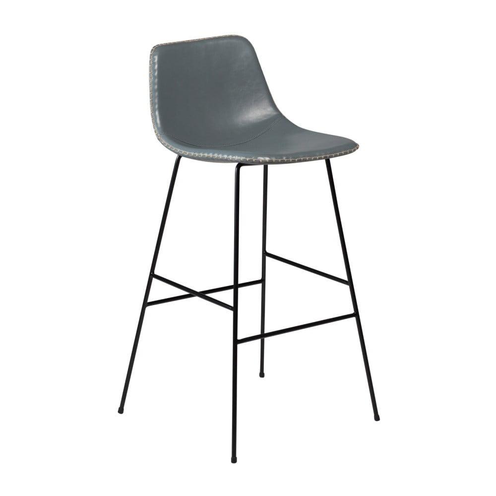 Sivá barová stolička DAN-FORM Denmark Floss