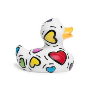 Kačička do vane Bud Ducks Mini Pop Heart