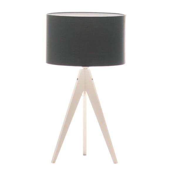 Stolná lampa Artist Poly Grey/White, 40x33 cm