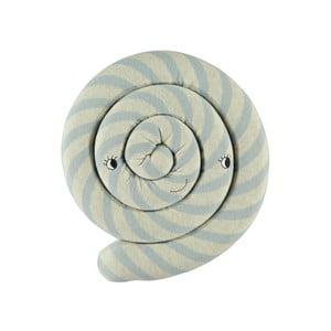 Modrý detský vankúš z organickej bavlny OYOY Lollipop, ⌀ 30 cm