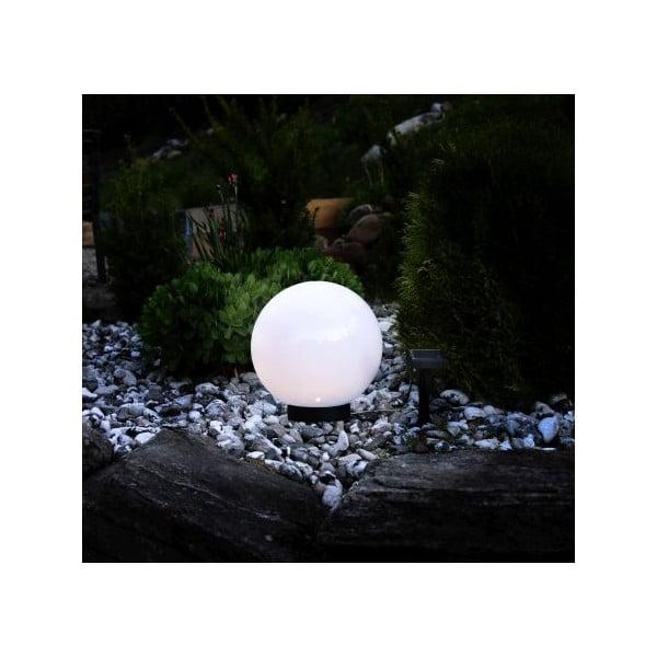 Vonkajšie solárne svetlo Best Season Globe, priemer 25cm
