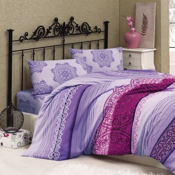 Obliečky Safir Violet, 240x220 cm