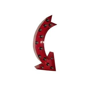 Svietiaca nástenná dekorácia Antic Line Arrow, 75 cm