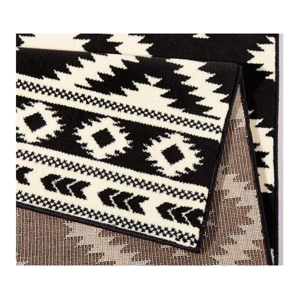 Čierny koberec Hanse Home Gloria Ethno, 120x170cm