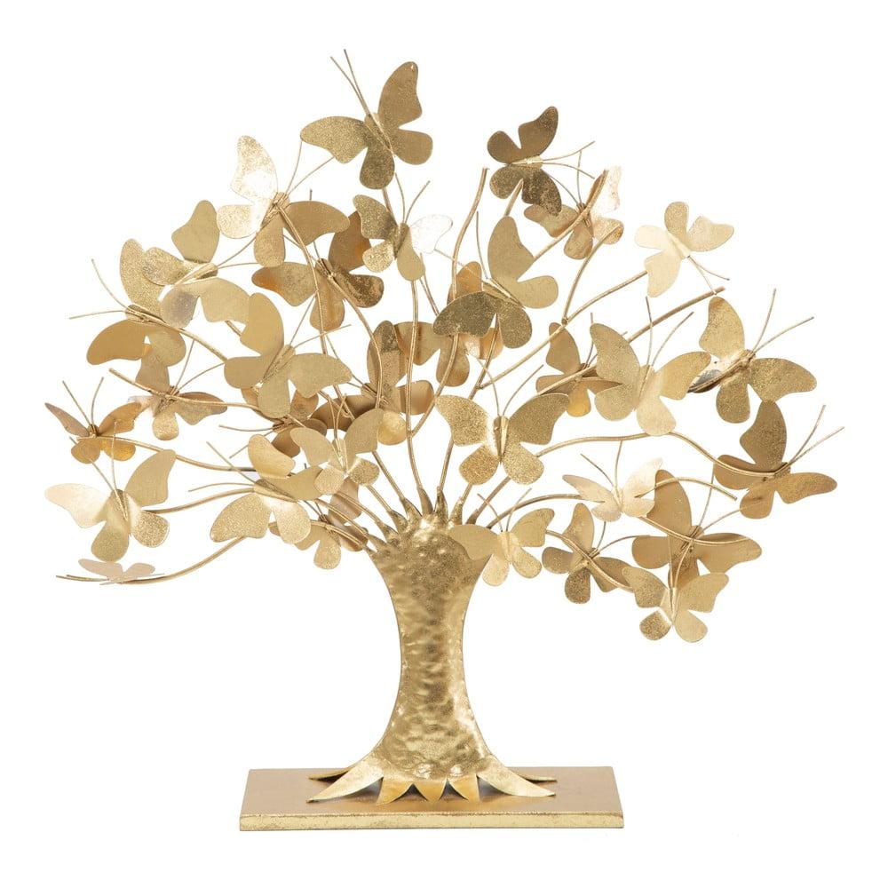 Dekorácia v zlatej farbe Mauro Ferretti Tree of Life, výška 60 cm