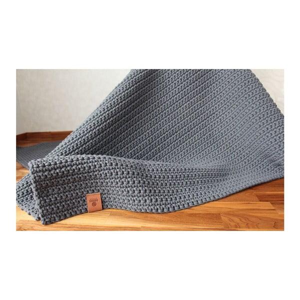 Háčkovaný koberec Catness, sivý, 150x200 cm