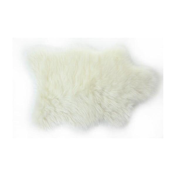 Kožušinový koberec Apolena, 50×70cm, biely