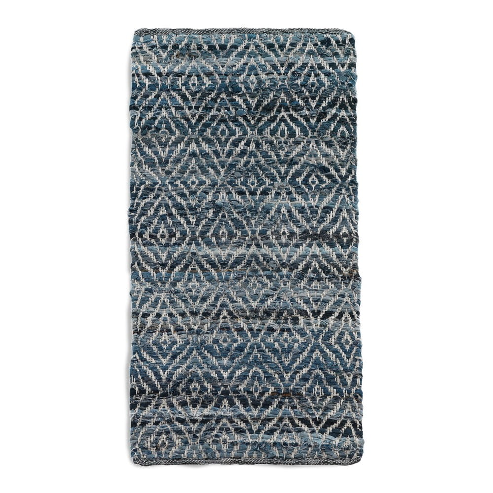 Modrý koberec Geese Valencia, 60 x 120 cm