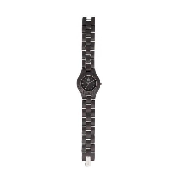 Dámske drevené hodinky Moon Black