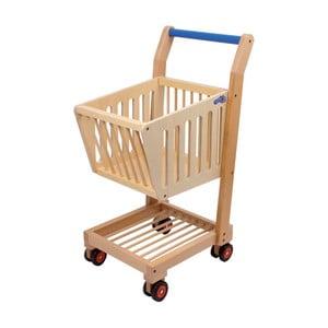 Drevený nákupný košík na hranie Legler Nature