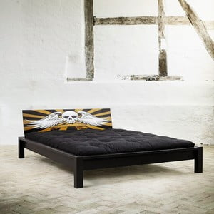 Posteľ Karup Tami Rock Black / Scull 153x213 cm