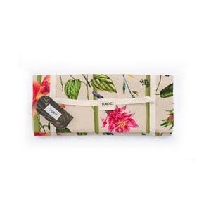 Piknik deka Surdic Manta Picnic Climbind Plant s motívom kvetín, 170 cm