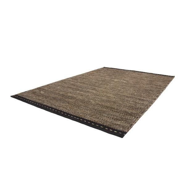 Vlnený koberec Mariposa 80x150 cm, hnedý