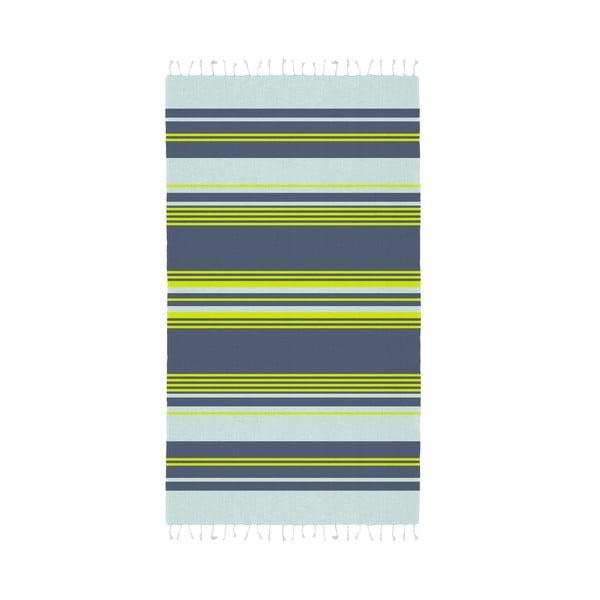 Sada 2 zeleno-modrých hammam osušiek HF Living Lush