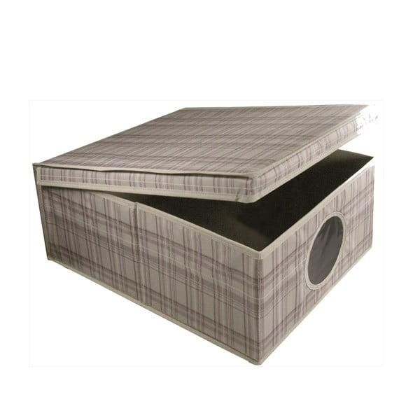Úložný box Tartan, 48x36x19 cm