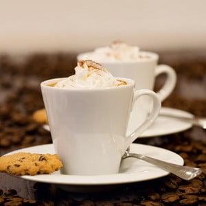 Sklenený obraz Coffee Cream, 30x30 cm