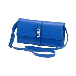 Modrá kožená kabelka Andrea Cardone Calandra
