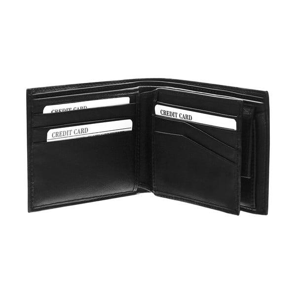 Kožená peňaženka Continuum 1522, jednoduché prešívanie