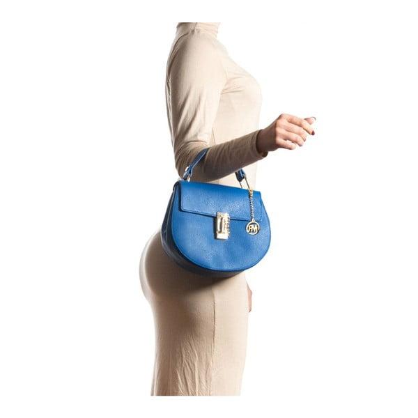 Kožená kabelka Roberta M 1092 Bluette