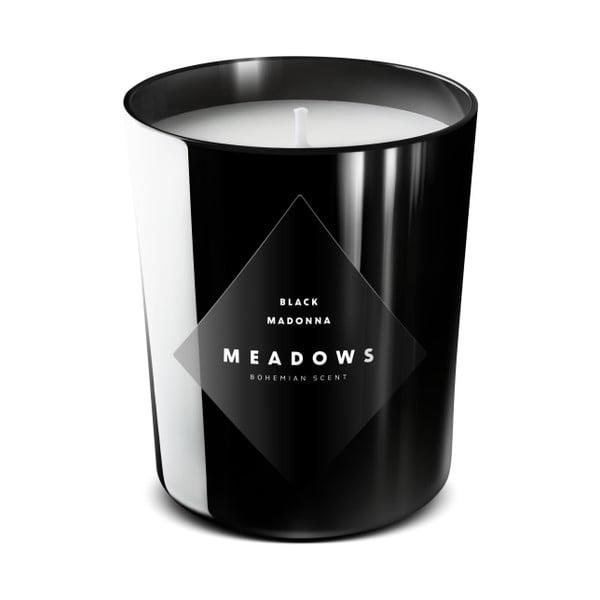 Sviečka Black Madonna 60 hodín - škorica, kadidlo, jantar, pínia
