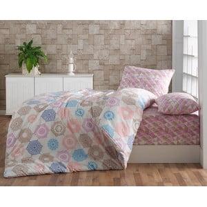 Obliečky Colorful Patchwork s plachtou, 160x220 cm