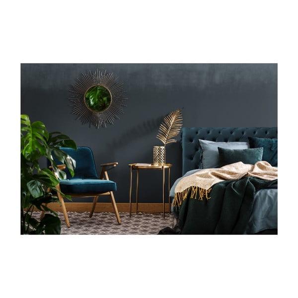 Svetlosivá posteľ s čiernymi nohami Vivonita Allon, 160×200cm