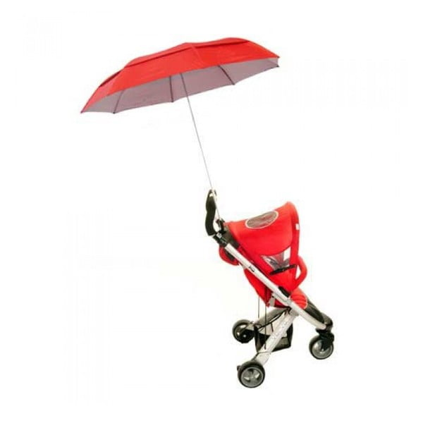 Dáždnik na kočiarik Buggy Brolly, red
