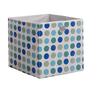Modrý úložný box 13Casa Dotted
