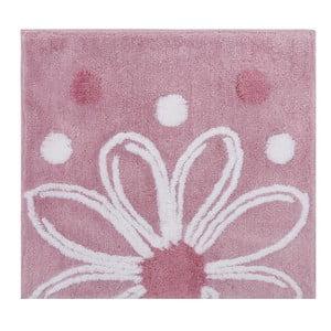 Ružová predložka do kúpeľne Alinda,50x60cm