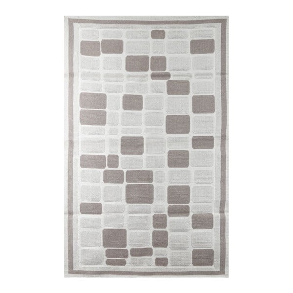Koberec Cream Tiles, 80x150cm