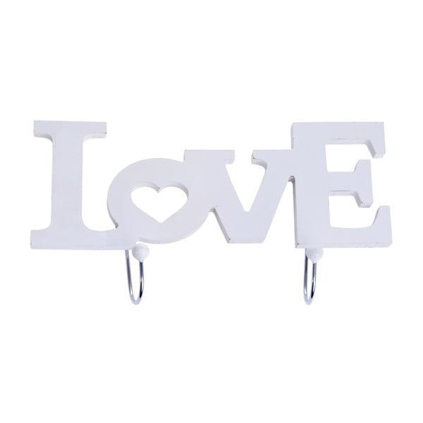 Vešiak Love White
