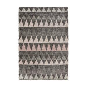 Tmavosivý koberec Mint Rugs Allure Grey, 160 x 230 cm