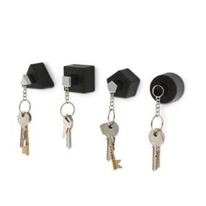 Vešiačiky na kľúče Shape, čierne