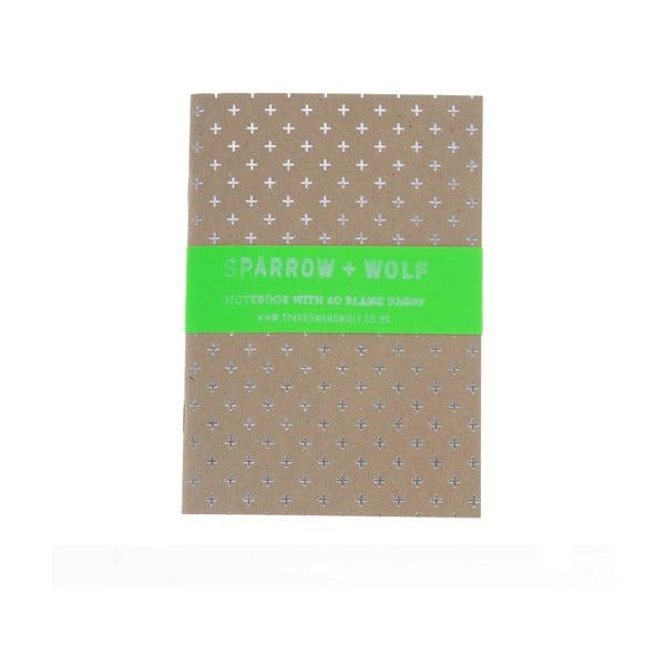 Zápisník Silver Plus