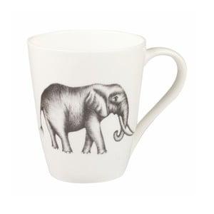 Hrnček z kostného porcelánu Churhill China Elephant Opal, 390 ml