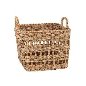 Úložný košík z morskej trávy Slowdeco Square, veľ. L