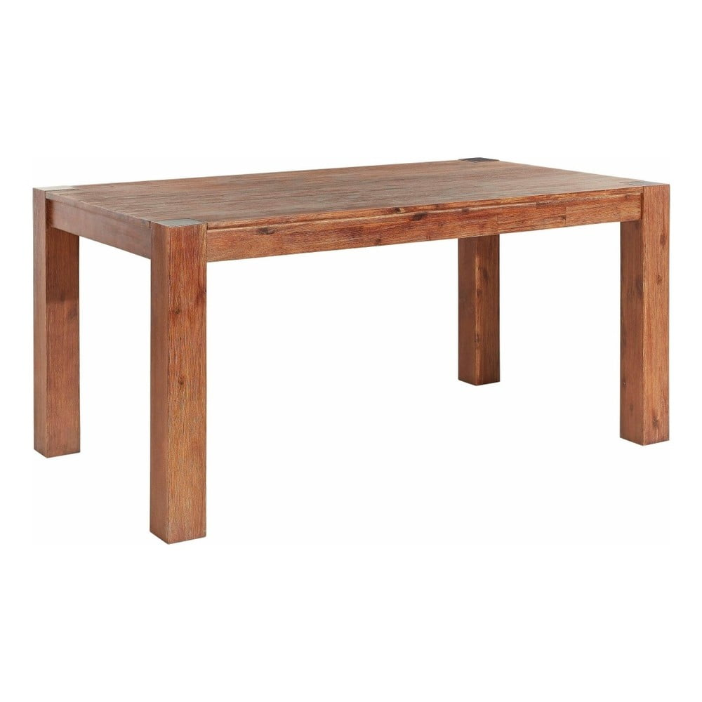 Jedálenský stôl z masívneho akáciového dreva Støraa Minnie, 90 × 160 cm