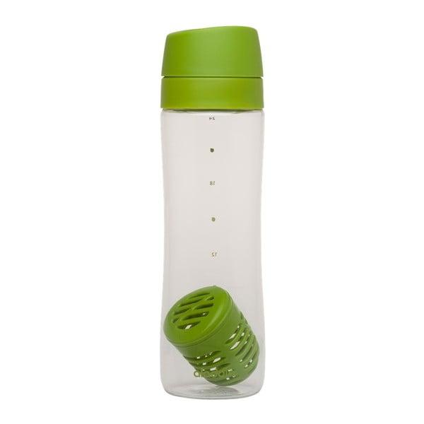 Fľaša s infuzérom Aladdin 700 ml, zelená