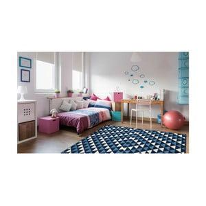 Vysokoodolný koberec Floorita Triangles, 133×190 cm