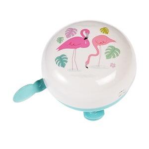 Zvonček na bicykel Rex London Flamingo Bay