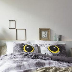Obliečky Owl Look Grey, 140x200cm